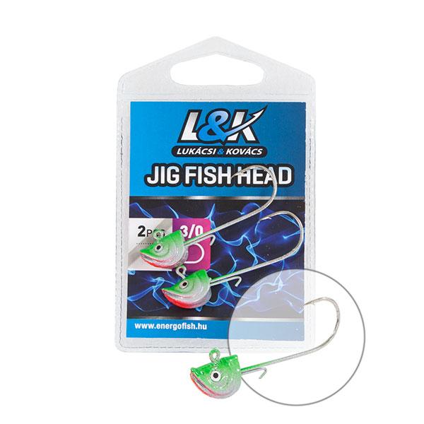 L&K TW FEJ FISH HEAD 2/0 6g