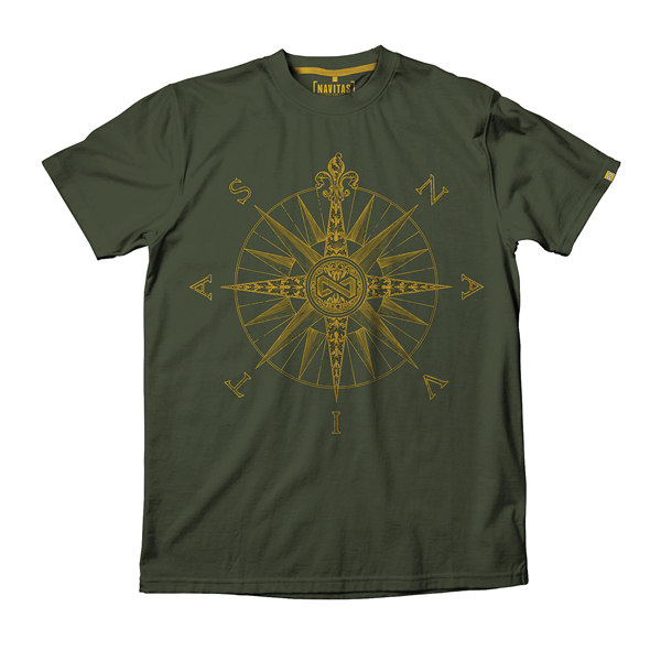 NAVITAS DIRECTION TEE GREEN 2XL