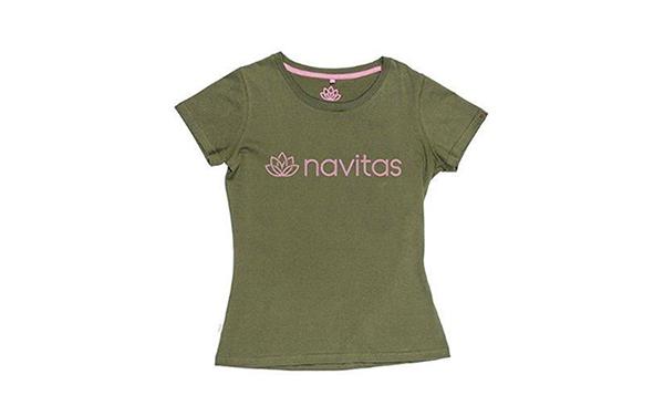 NAVITAS WOMENS TEE GREEN L