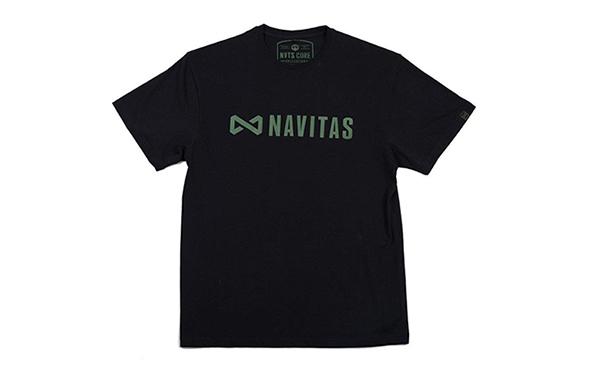 NAVITAS CORE TEE BLACK L