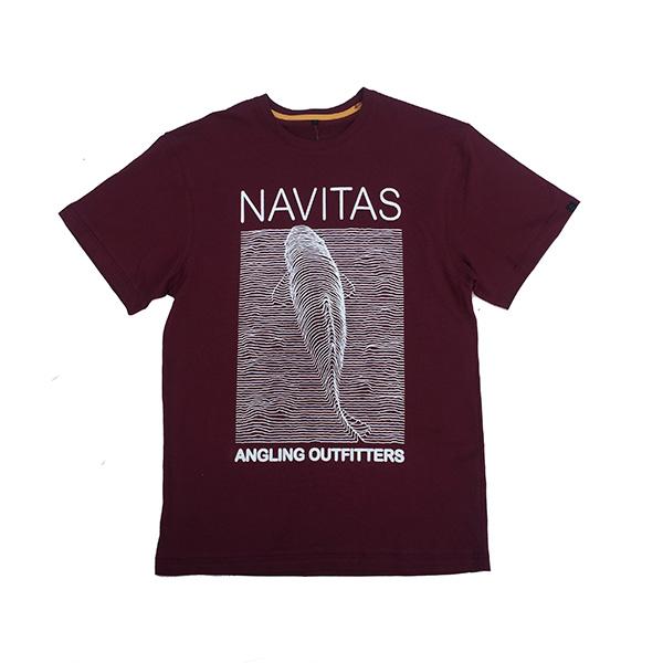 NAVITAS JOY TEE BURGUNDY XL
