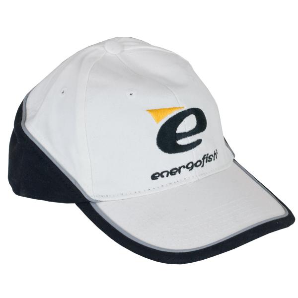 BASEBALL SAPKA ENERGOFISH WHITE BLACK