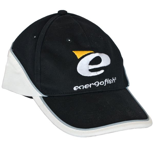 BASEBALL SAPKA ENERGOFISH BLACK WHITE