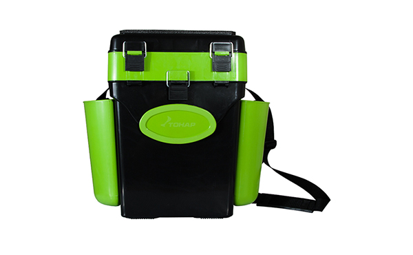 FISHING BOX IARNA 10L (HELIOS) GREEN