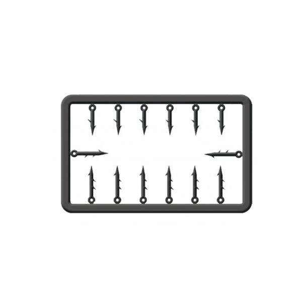 CRALUSSO Mûanyag csalitüske készlet (10-13 mm) M