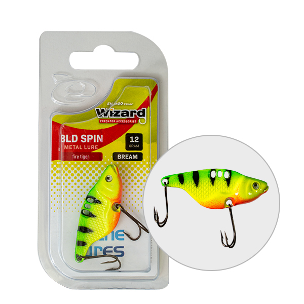 VILLANTÓ WIZARD BLD SPIN BREAM 16 GR FLUO YELLOW & WHITE