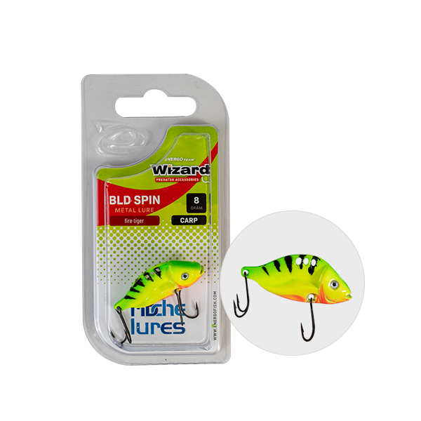 VILLANTÓ WIZARD BLD SPIN CARP 16 GR  ORANGE & WHITE