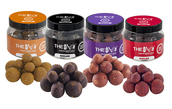 THE ONE GOLD HOOK BOILIES SOLUBLE 14/18/22MM MIX 150g