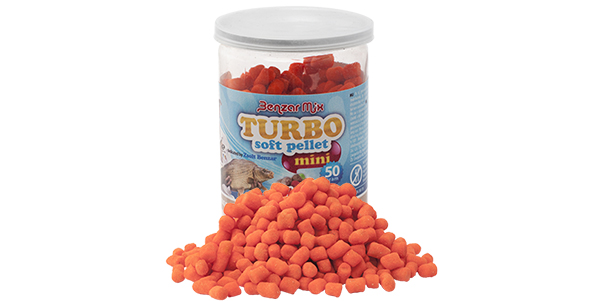 BENZAR MIX  TURBO SOFT PELLET XL FLUO CARP