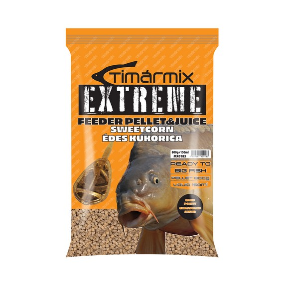 TIMÁR MIX EXTREME PELLET & JUICE FRUTTI DI MARE 800+150G