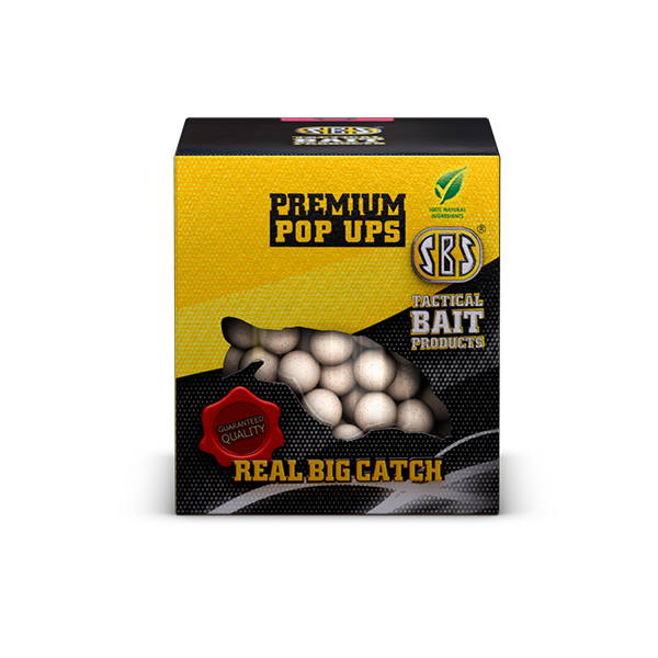 SBS Premium Pop Ups Krill Halibut 100 gr 16, 18, 20 mm
