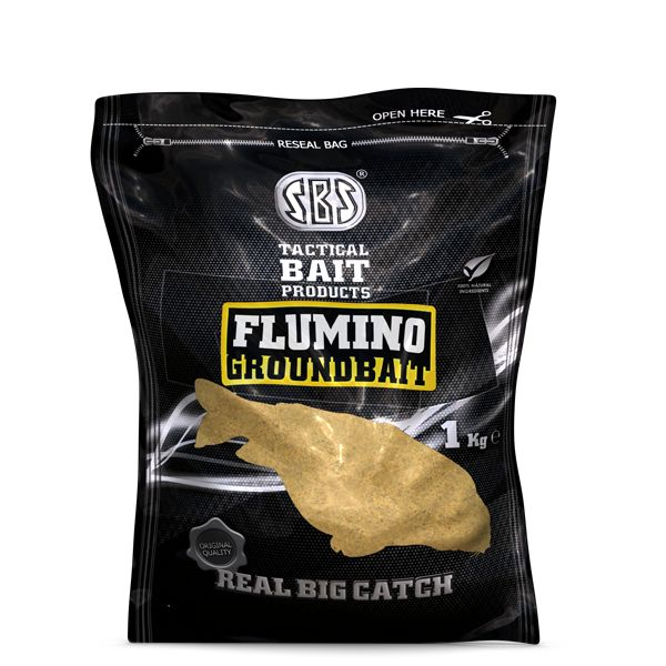 SBS FLUMINO GROUNDBAIT NATURAL 5 KG