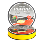 Fir EnergoTeam Power Braid Teflon Galben Fluo 150m