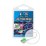 L&K FISH HEAD JIG FEJ