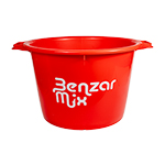 BENZAR MIX BUCKET 40 L RED